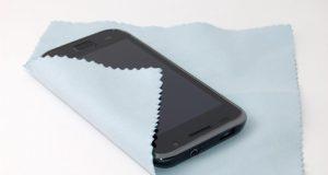 Mikrofasertuch für Smartphones