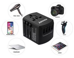 JYDMIX All-in-One Universal USB Reiseadapter