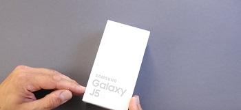 Unboxing: Samsung Galaxy J5